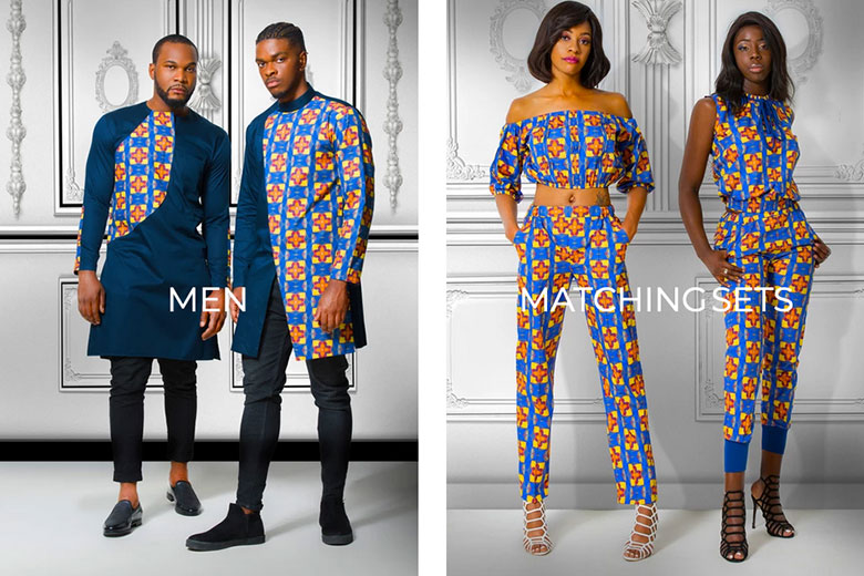Alleon -African Inspired Fashion Prints