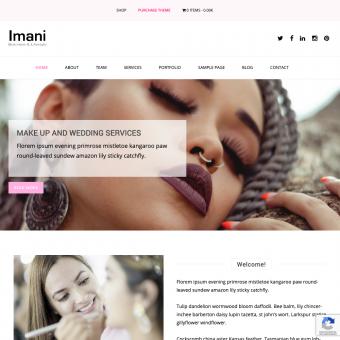 Imani Business Theme