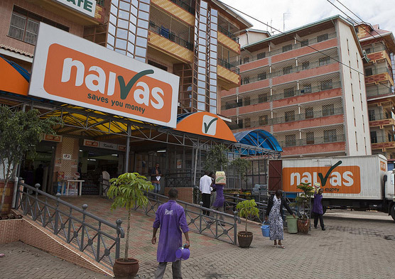 A Naivas Supermarket Outlet