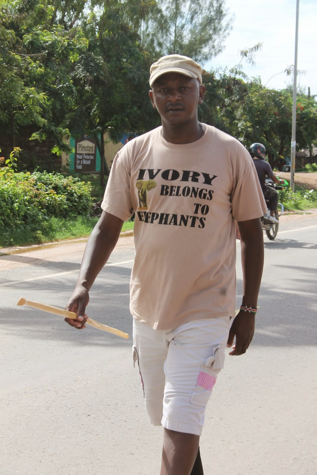Jim Justus Nyamu an advocate against Ivory Trade