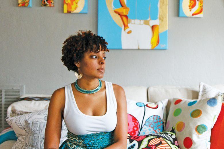 Ebony Iman Dallas- Artist