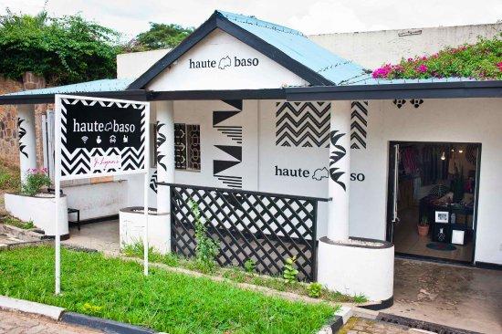 Haute Baso Shop in Kigali, Rwanda