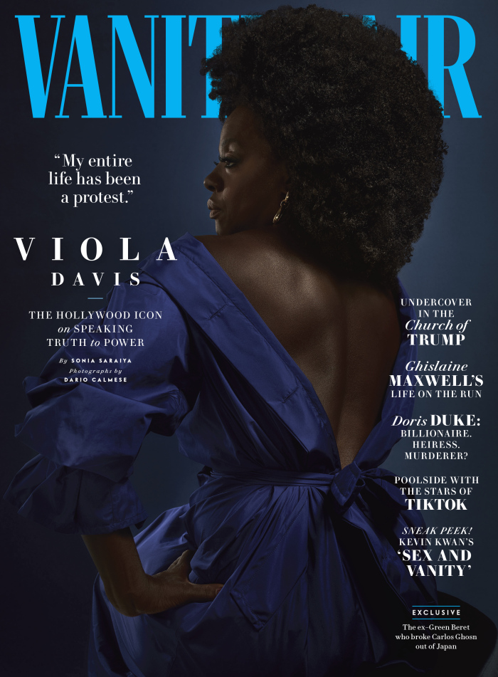 Dario Calmese shoots the cover of the July/August 2020 Edition of Vanity Fair