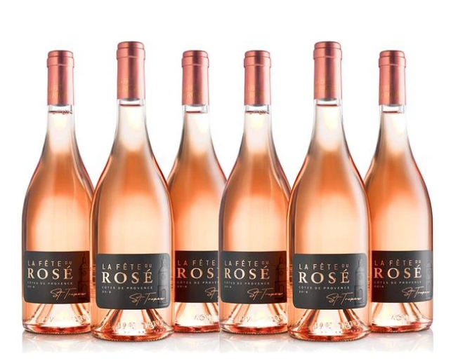 La Fête du Rosé wine label