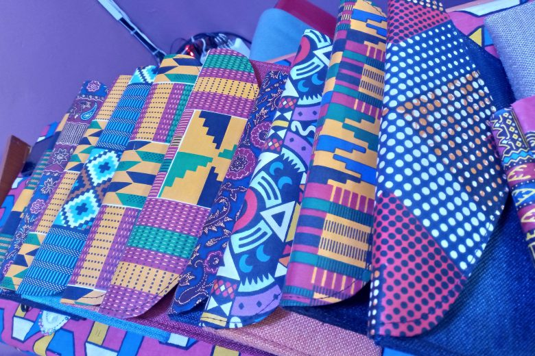 Clutch purses by Morena Creations