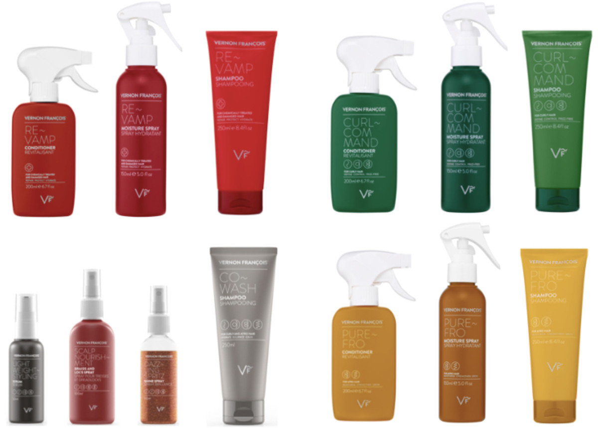 The Vernon François Collection for Hair Care